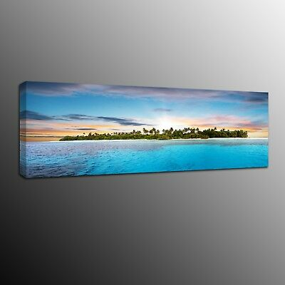 Landscape Canvas Prints Blue Sky Wall Art Painting Home Decor ocean Picture