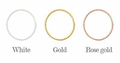 4XTYLE [Silver] Whipping Twist Ring Rose gold size 9 / Accessories / Ring / Jewe