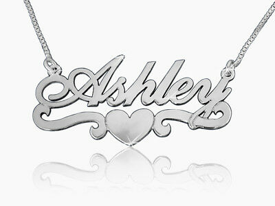 Name Necklace, Order Any Name! Personalised Custom made Love chain  Christmas