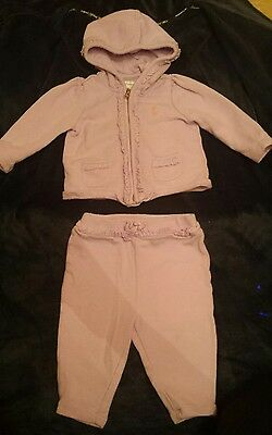 Ralph Lauren baby girl outfit..pants and hooded jacket