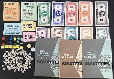 Squatter The Australian Wool Game by John Sands - Add on Box - Collectable
