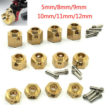 4pcs/set Heavy Duty 5/8/9/10/11/12mm Thick 12mm Hex Wheel Hubs For Traxxas TRX-4