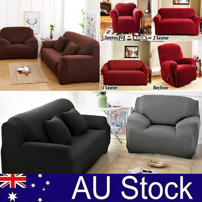 Stretch Sofa Couch Covers Slip Cover 1 Seater 2 Seater 3 Seater 4 Seaters Lounge