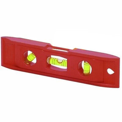 "6"" inch Mini Magnetic Torpedo Level Carpenter Carpentry Framing Bubble Level Red"