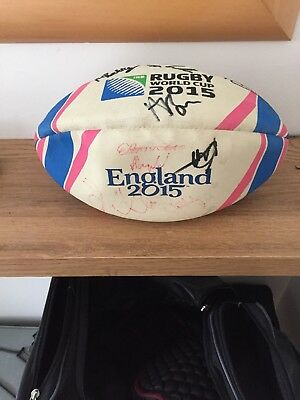 Exeter Chiefs Signed Rugby Ball
