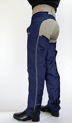 Just Chaps Adult Lightweight Dri Riders - Quality Waterproof Full Riding Chaps