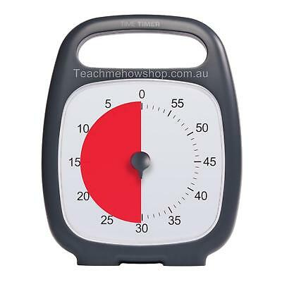 """Time Timer Plus Autism Special Needs ADHD Anxiety Visual Aid Support Clock 5.5"""""""