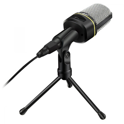 Brand New USB Microphone For Computer Laptop Voice Recording Singing Gaming Mics