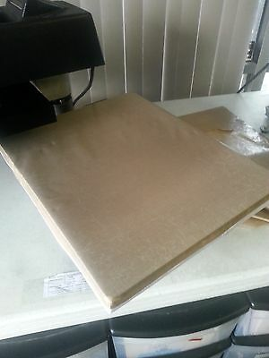 teflon lower platen cover for 15x15 heat press