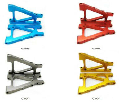 Alloy Aluminum Fron Lower Arm for Kyosho Optima 1/10 4wd Buggy rc car upgrade