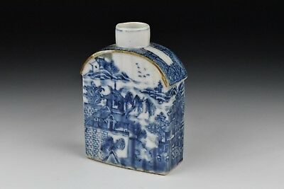 18th / 19th Century Chinese Export Nanking Porcelain Tea Caddy