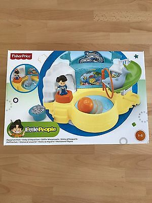 Fisher Price Little People Aquarium Visit - Koby à L'aquarium - Delfin Wasserpar
