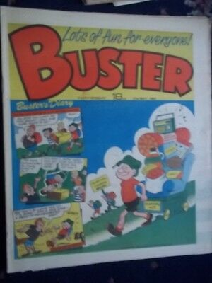Buster  Comic.[ 21St May 1983].