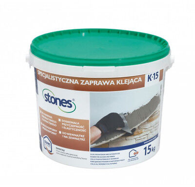 Stones K15 Natural Stone Adhesive Mortar - Cladding - Ready Made Dry Mix