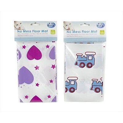 No Floor Mess Splash Mess Mat Baby Feeding High Chair Easy Clean Floor Mat