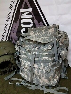 ARMY ACU DIGITAL MOLLE II LARGE RUCK SACK FIELD PACK With Side Pouches