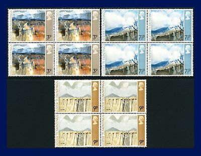 1971 SG881-883 3p-9p Ulster Paintings Set Blocks of 4 MNH aigd