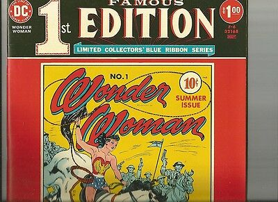 FAMOUS 1ST EDITION giant reprint of Wonder Woman 1 1975 GOLDEN AGE