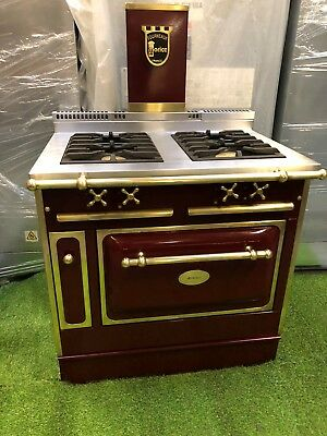 Lovely fourneaux morice lacanche range cooker large oven brass and lovely fourneaux morice lacanche range cooker large oven brass and burgundy publicscrutiny Choice Image