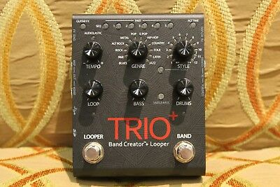 DigiTech Trio+ Band Creator Plus Looper Guitar Effects Pedal