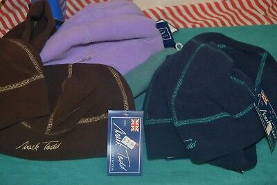 Beanie Hats Equestrian Mark Todd Hats To Clear One Size Winter Fleece Beanies