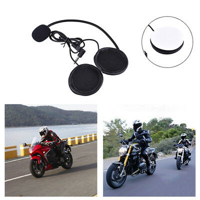 1pcs Motorbike Helmet Bluetooth Interphone Motorcycle Intercom Headset Earphone