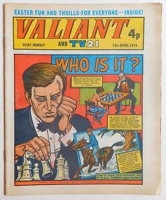 VALIANT and TV21 Comic - 13th April 1974