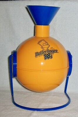 Rare Vintage Bart Simpson's Butterfinger BB's Candy Dispenser