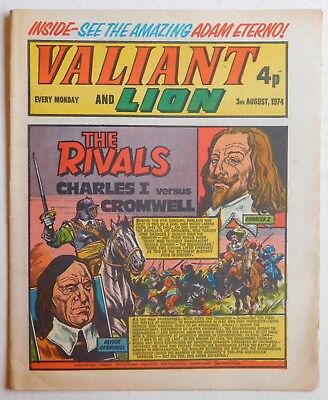 VALIANT and LION Comic - 3rd August 1974