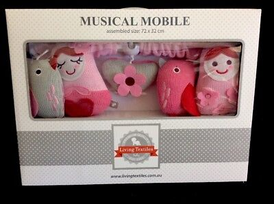 Living Textiles Adele Musical Mobile. Brand New.