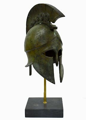 Corinthian Bronze helmet with Snake - Spartans - Medium size