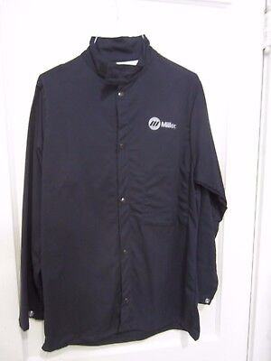 MILLER WELDING JACKET, 9oz. FR cotton  Small