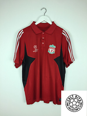 finest selection 97081 00c12 LIVERPOOL 06/07 C/L Polo Football Shirt (M) Soccer Jersey Adidas