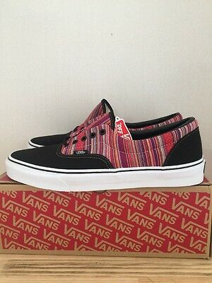 76d1f3238e VANS ERA GUATE Weave Black Multi Size 11 New With Box -  41.21 ...