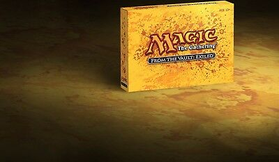 Magic the Gathering MTG FROM THE VAULT: Exiled New In Sealed Box