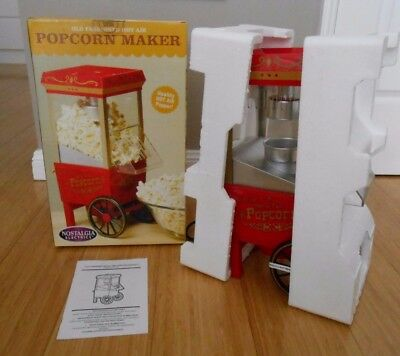 BRAND NEW Nostalgia Old Fashioned Hot Air Theater Style Popcorn Maker OFP-501