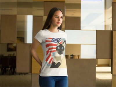 Patriotic Siamese Cat Shirt For Women and Men (S, M, L, XL, XXL) NEW!