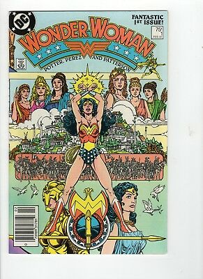 Wonder Woman #1 VF 8.0 White Pages