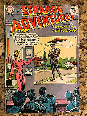 Strange Adventures #148 Dc / Flying Saucer Cover / Vg/fn 5.0