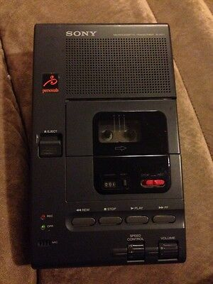 Sony M-2000 Microcassette Transcriber - Untested - As-is