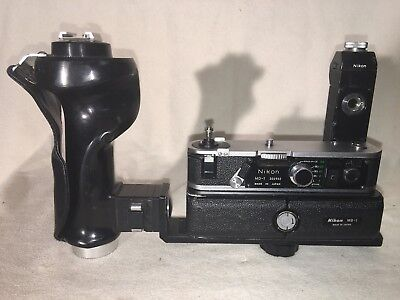 Nikon MD-1 and MB-1 Professional Motor Drive for Nikon F2 Series Vintage