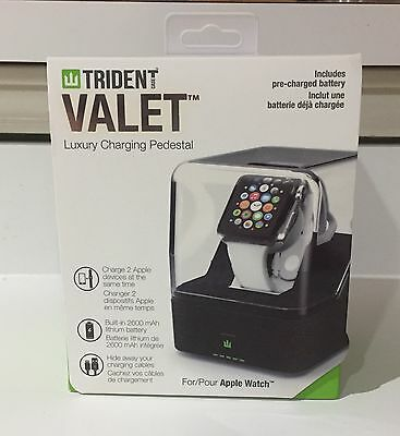 Trident Valet Luxury Charging Pedestal For Apple Watch