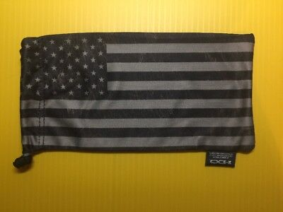NEW Oakley Subdued USA American Flag Microfiber Sunglasses Bag Cleaning Cloth