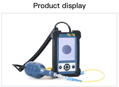 Fiber Optic MicroScope KIP-500V Fiber Video Inspection Probe and Display 400X