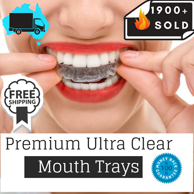 Teeth Whitening Kit Mouth Trays Custom Mould Thermo Plastic Guards