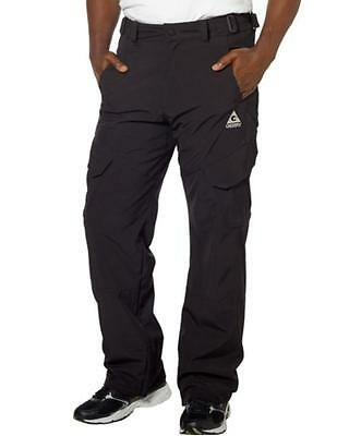 NWT Mens Black Gerry Ski Snow-Tech Snowboard  Pants Size Medium  Free Ship