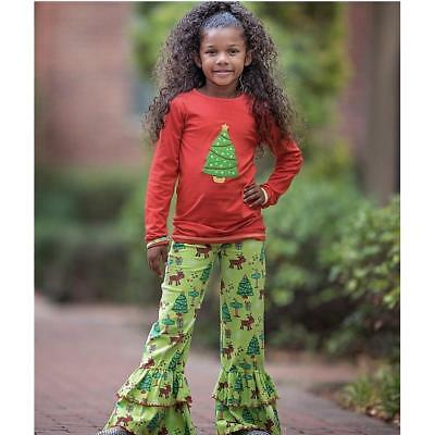Christmas Tree Tunic and Pants