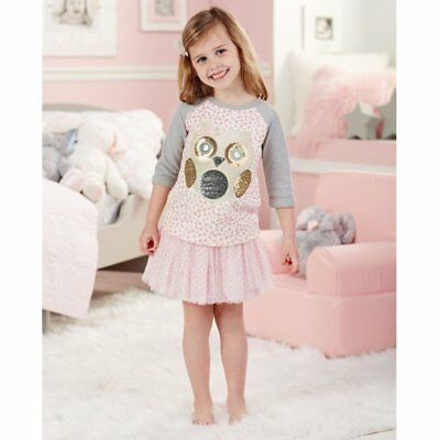 Mud Pie Sequin Spotted Owl Sweatshirt