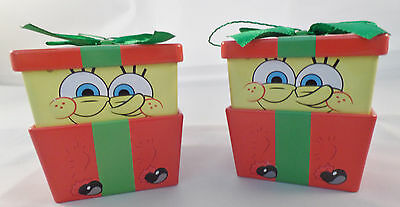Spongebob Squarepants Candy Filled Gift Tin SET of 2 FREE Shipping NEW