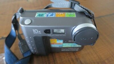 Sony Vintage Floppy Disk Digital MAVICA Camera Video Recorder MVC-FD73